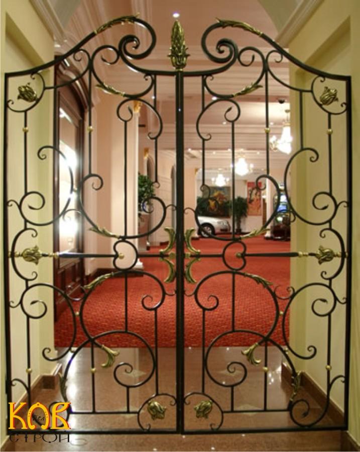 кованые решетки для металлических дверей